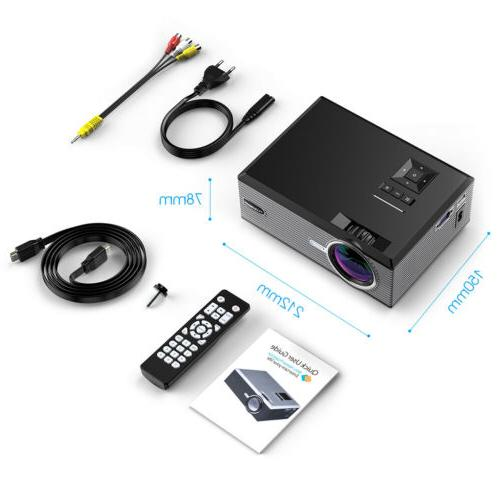 5000 Portable Projector Theater USB