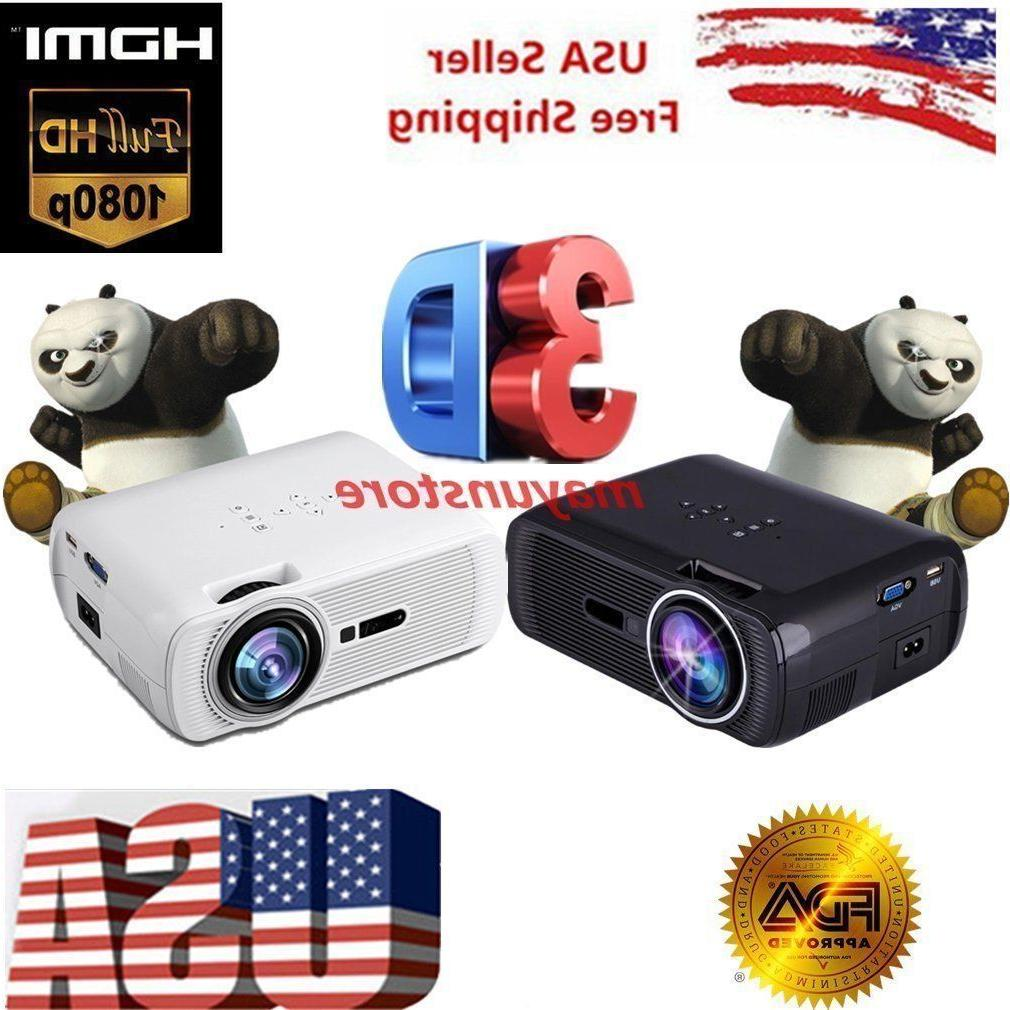 5000lumens full hd1080p led lcd 3d vga