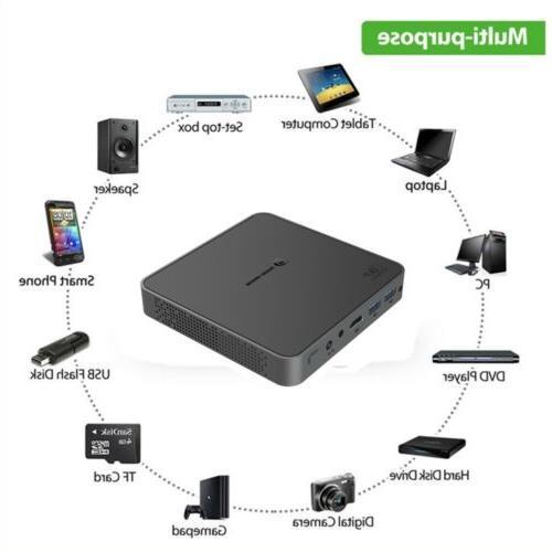 Mini 4K HD Projector Wifi Bluetooth Home USB