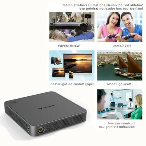 Mini 5500Lumens HD Projector Android Bluetooth Home Theater HDMI USB