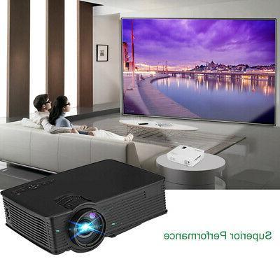 7000 LED Projector Home Cinema USB/SD/HDMI/AV