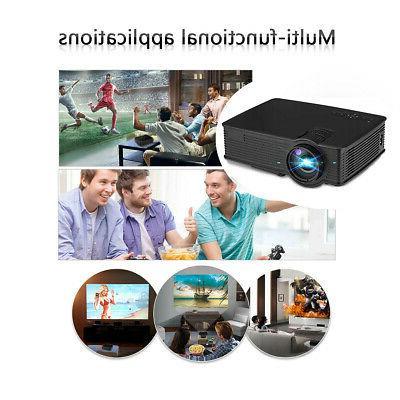 7000 Lumen Mini 3D LED Home Theater USB/SD/HDMI/AV