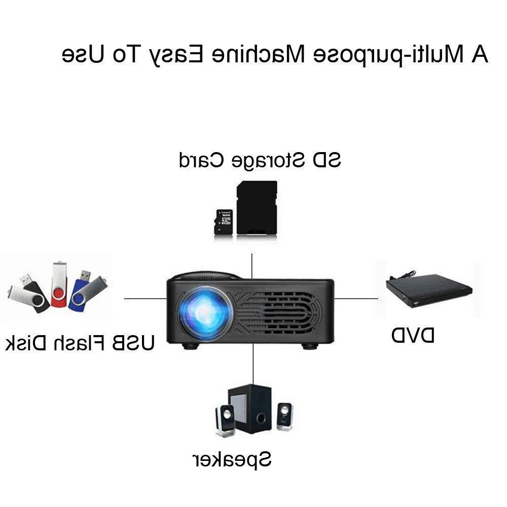 7000 Full HD LED Multimedia Home Theater AV WIFI