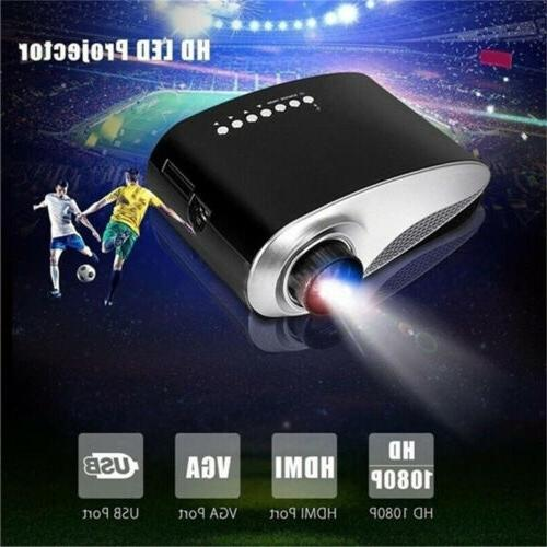 7000 Lumens HD 1080P Mini LED USB