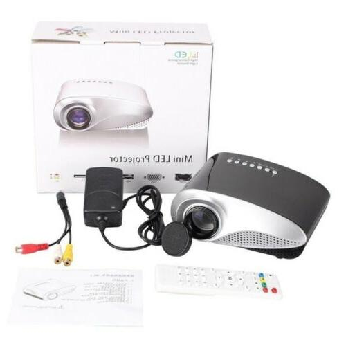 7000 Full HD 1080P LED Multimedia USB