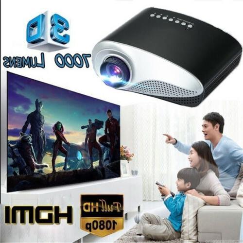7000 lumens 3d full hd 1080p mini