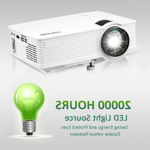 7000 Lumens 3D LED Home Theater Projector