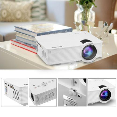 7000 Lumens 3D Mini Home Theater USB