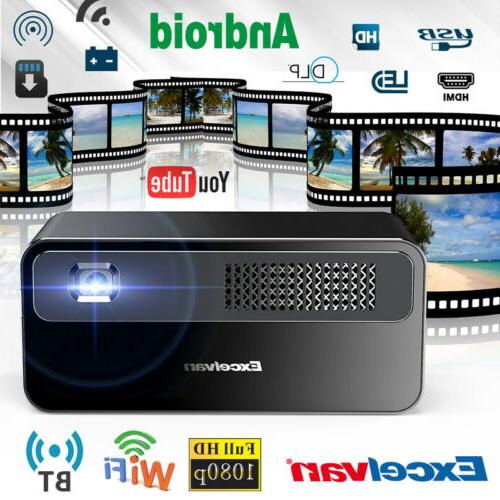 7000 lumens wifi 3d home theater mini