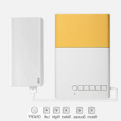 4K LED Wifi Smart 3D Portable