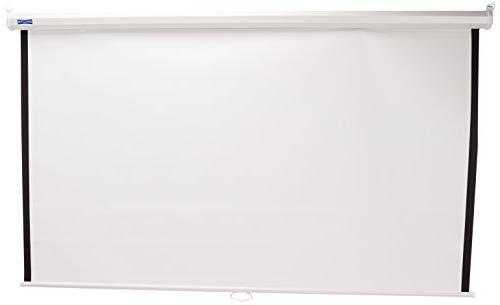 Da-Lite Screen 70INX70IN Model B Manual Screen Wall/ceiling