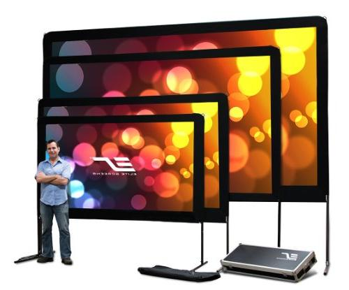 """Elite Yard 100 Screen with 8K 3D Movie Theater 100"""" Resistant"""