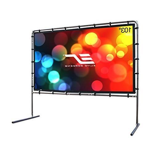 Elite Screens Yard Master, 123 inch Outdoor Projector Screen