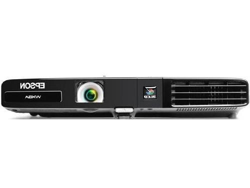 Epson PowerLite 1761W, WXGA, Wireless, 2600 Lumens Color Bri