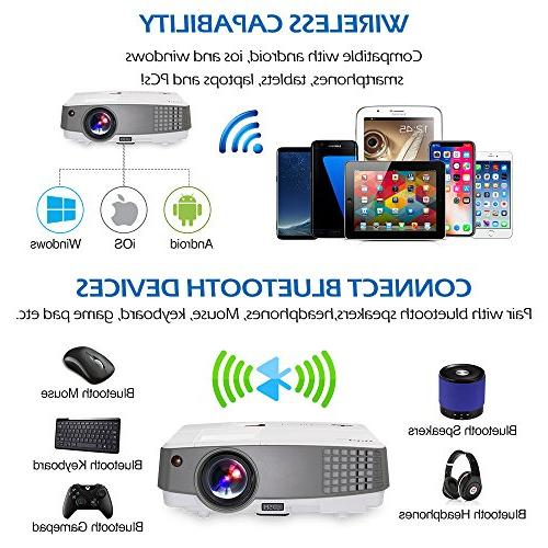 HD Movie Gaming Multimedia Entertainment USB Support 720P Party