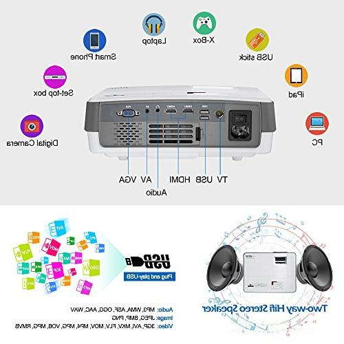 HD Movie Projector Entertainment Support Home Party