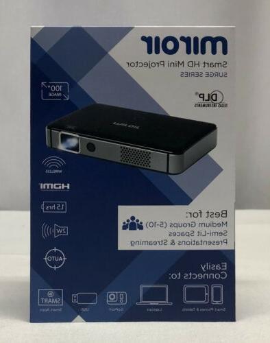 Miroir - Surge Series Wireless Smart Dlp Projector - Black