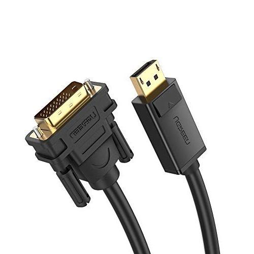 UGREEN Displayport To DVI DP Male to DVI 24+1 Male Audio Vid