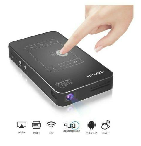 akaso wt50 mini projector 1080p hd video
