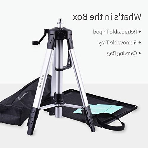 VANKYO Tripod Projector Stand, Laptop Stand, Multi-Function Computer Adjustable 46'' Laptop Plate and