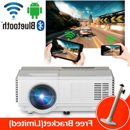 android bluetooth home theater projector airplay hd