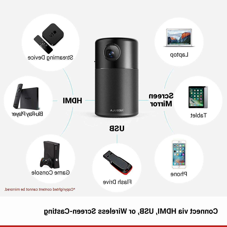 Anker Nebula Capsule WiFi Projector Speaker