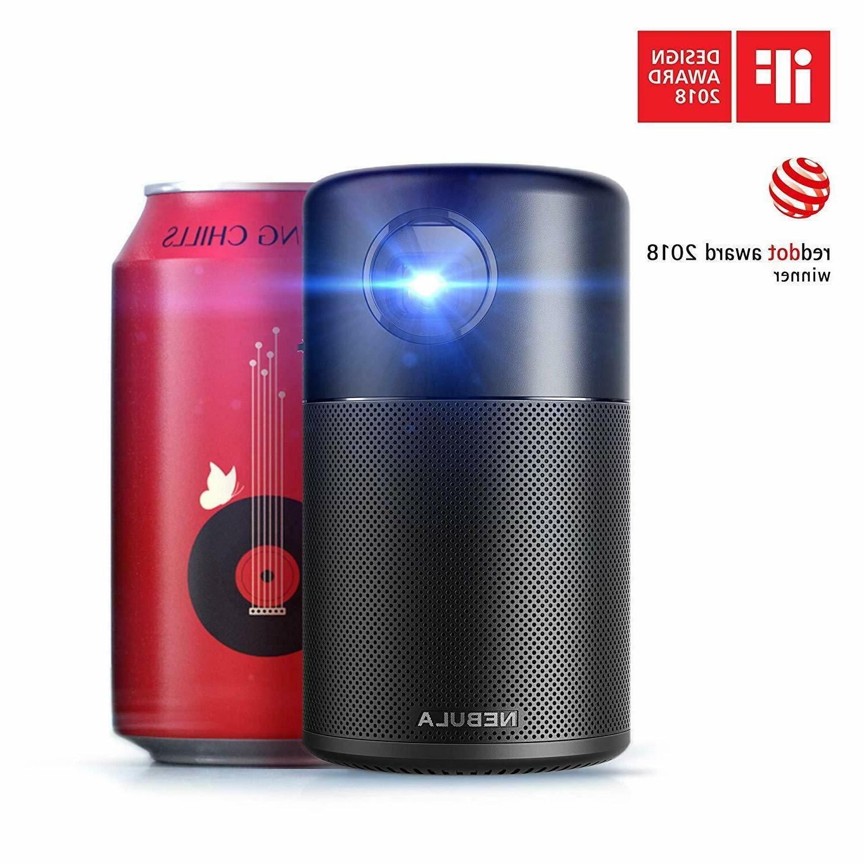anker capsule smart wifi mini projector portable