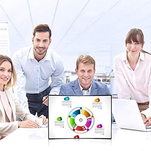 Business 20 4:3 Mini Portable Tabletop Screen PVC Fabric Meeting Office Teaching etc