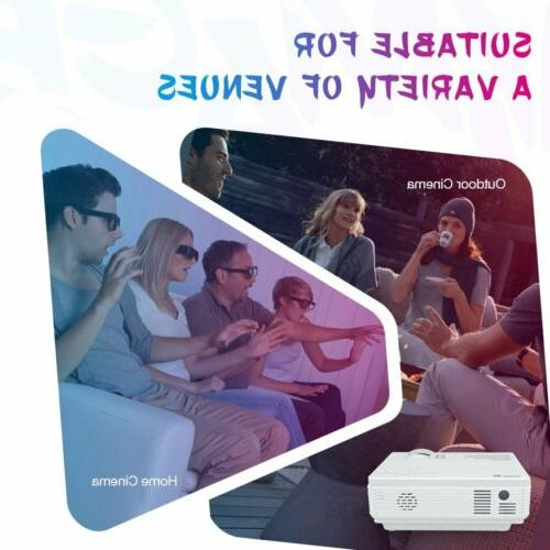 VIVIMAGE C3 LED Home Video Projector HDMI