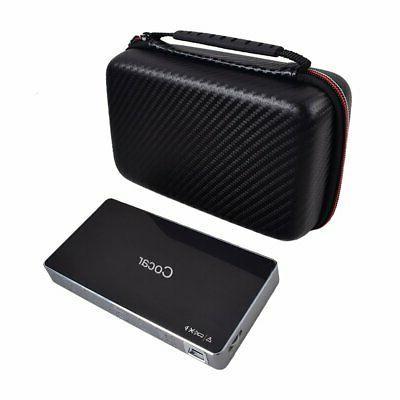 Carrying Mini Projector &Accessories Thickened Hard Shell