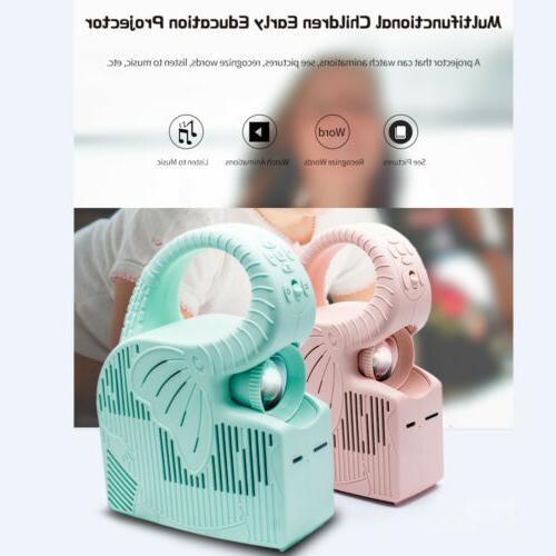 Mini Projector for Children Kids Baby 2000mAh Long Endurance