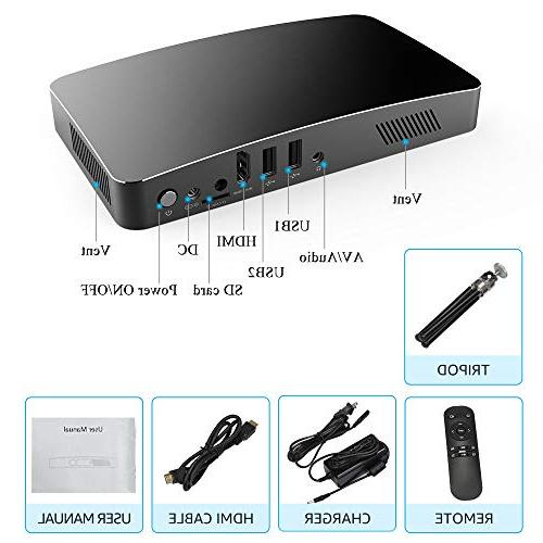 Sealegend D2 HD 3000 Full WiFi Bluetooth Battery 8000mAh Android USB SD Slot Portable and Travel,