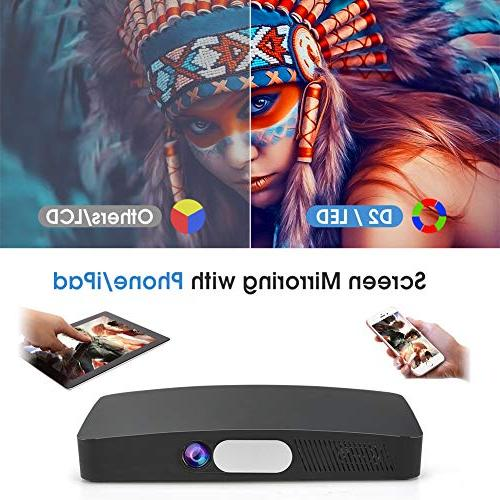 Sealegend HD Full WiFi 8000mAh Android OS HDMI USB Portable for Home and
