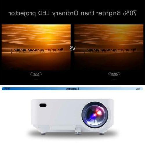 DBPOWER Mini Display 1080P Full LED Movie