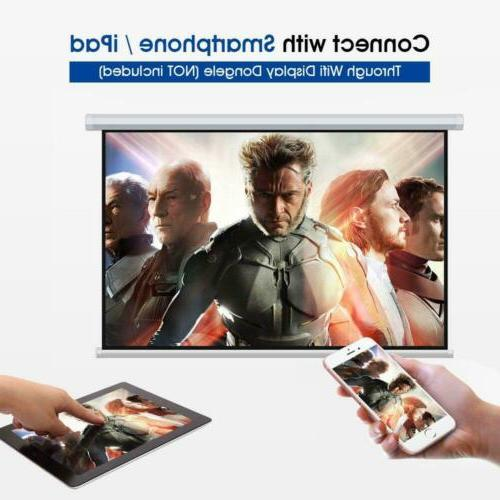 DBPOWER Display 1080P HD LED White