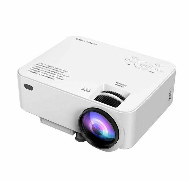 dbpower t20 pj0703 projector white