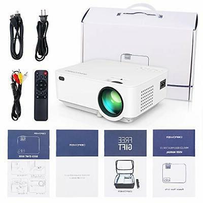DBPOWER Mini 176'' HD LED