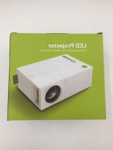 deeplee portable mini led projector home cinema