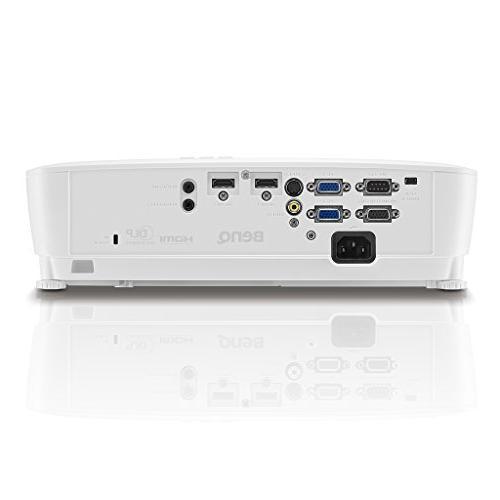 "BenQ WXGA Business , DLP, Lumens, 15,000:1 HDMI, 10,000hrs 71""@7.8ft, 1.2X Zoom,"
