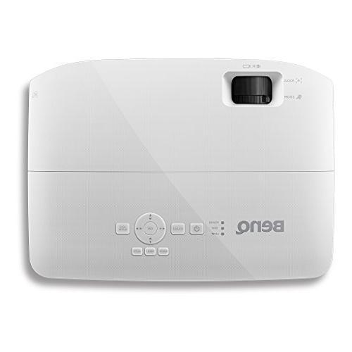 BenQ WXGA Projector , 3300 15,000:1 Contrast, Dual 10,000hrs Lamp 1.2X Zoom,
