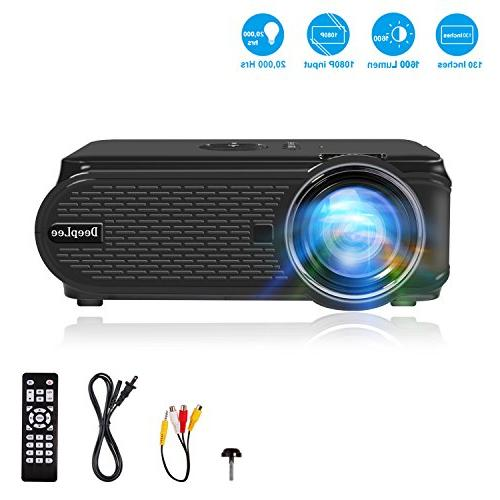 DeepLee with PC TV with USB SD Movie Gaming Holiday