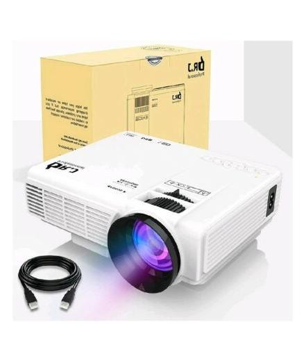 dr j 4inch mini projector with 170