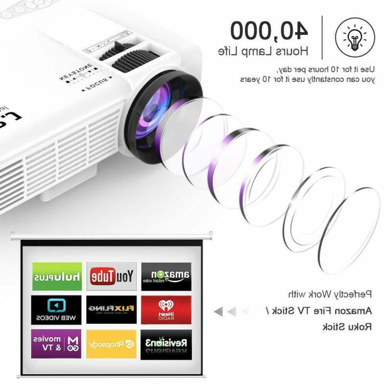 DR. Professional Full HD 1080P Supported Mini Projector