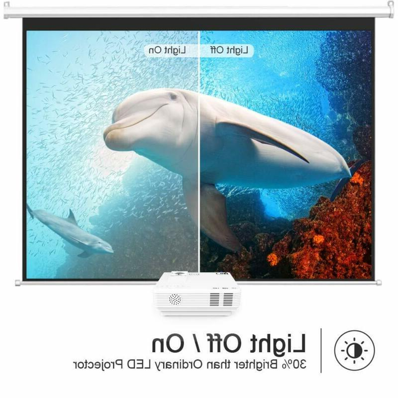 DR. 1080P 4Inch Mini Projector with