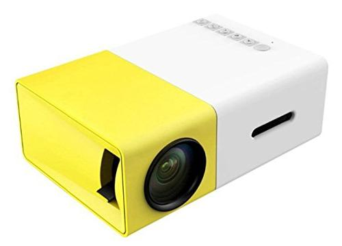 e mini portable projector home