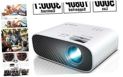 elephas 2020 mini movie projector 5000 lux