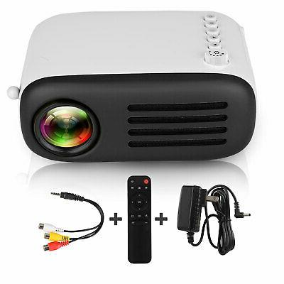 1080p Full HD Mini Portable LED Home Cinema HDMI SD