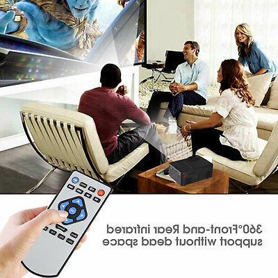 Full HD 1080P Home Mini Projector 3D Cinema Multimedia TFT