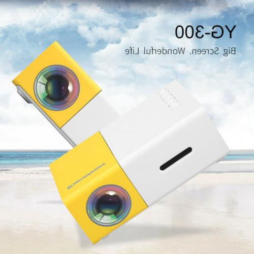 YG300 Mini Projector AV HDMI