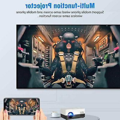 1080p Full HD Portable Home AV USB